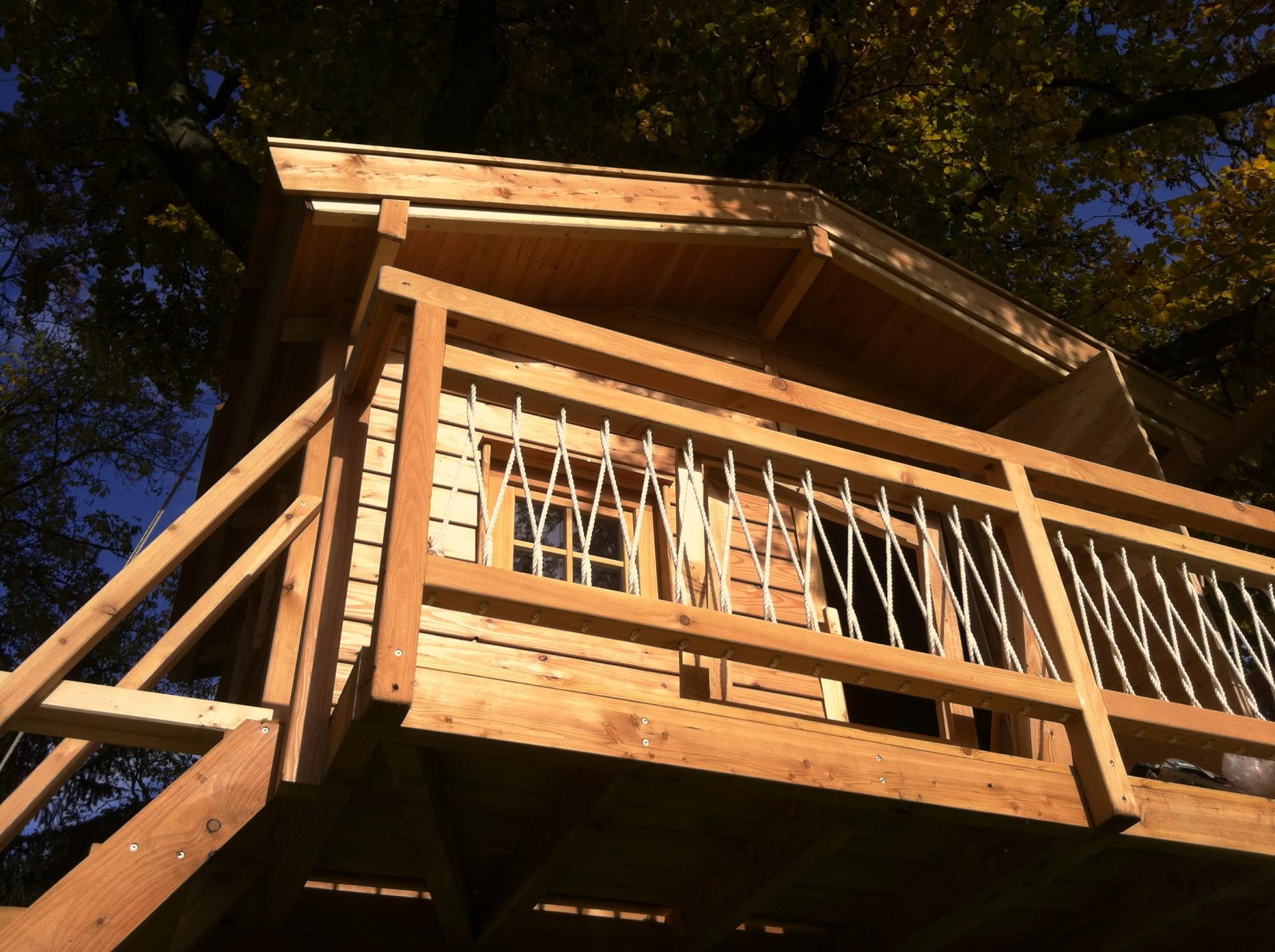 Unser jüngstes Baumhausprojekt!
