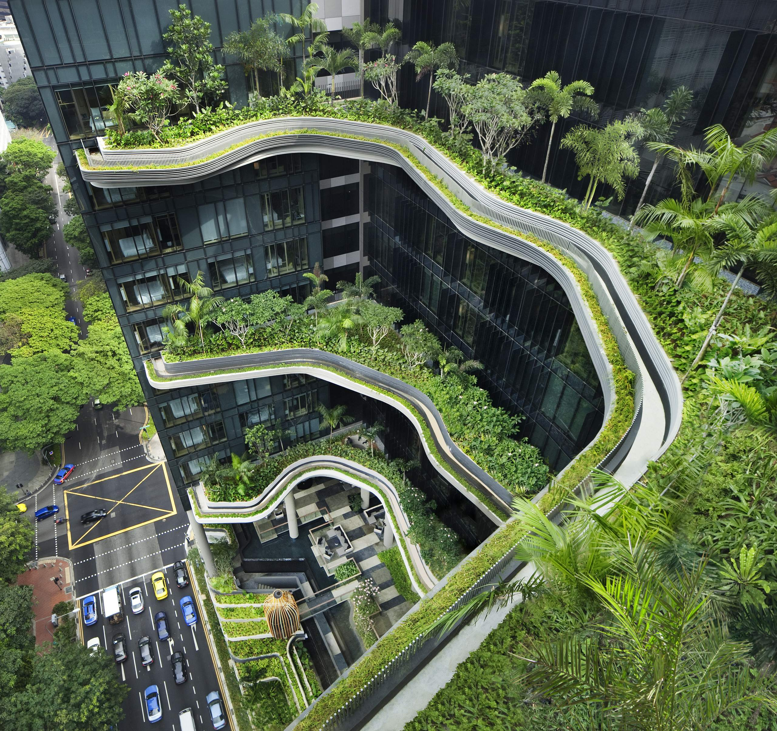 Das Park Royal in Singapur