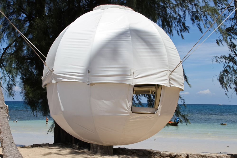 Die runden Zelte von CocoonTree!