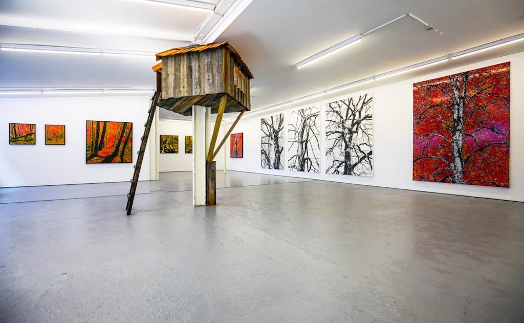 Baumhaus in Galerie gesichtet!