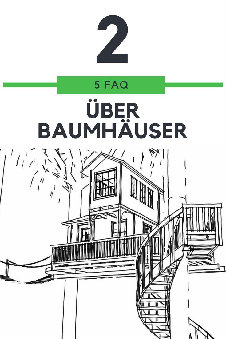 FAQ #2 – Fünf Fragen rund ums Baumhaus