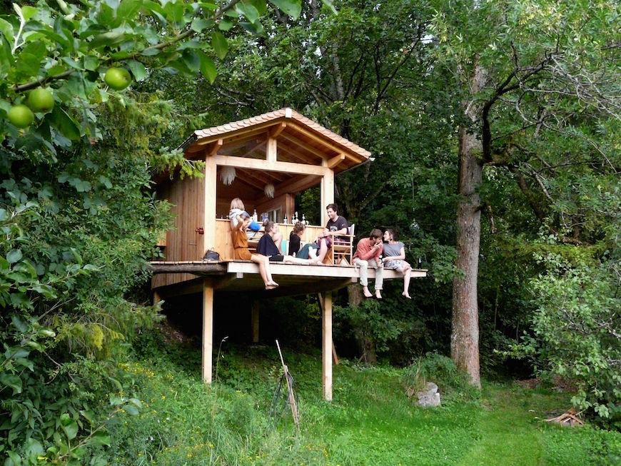 Was für eine Baumhaus-Lovestory!